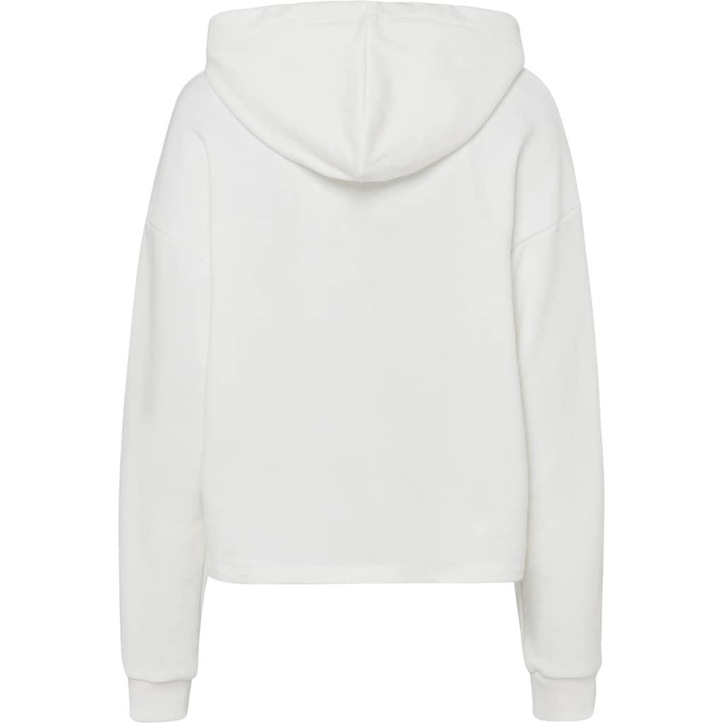 Herrlicher Sweatshirt »HAVEN«, mit Logo-Metall-Applikation