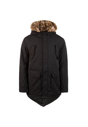 URBAN CLASSICS Winterjacke »Hooded Faux Fur Herren« kaufen