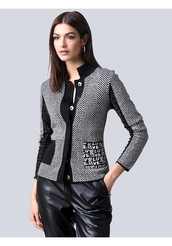 Alba Moda Strickjacke, im exklusiven Jacquardstrick kaufen