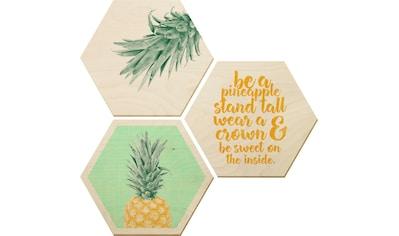 Bilder - Collage »Ananas« (Set) kaufen