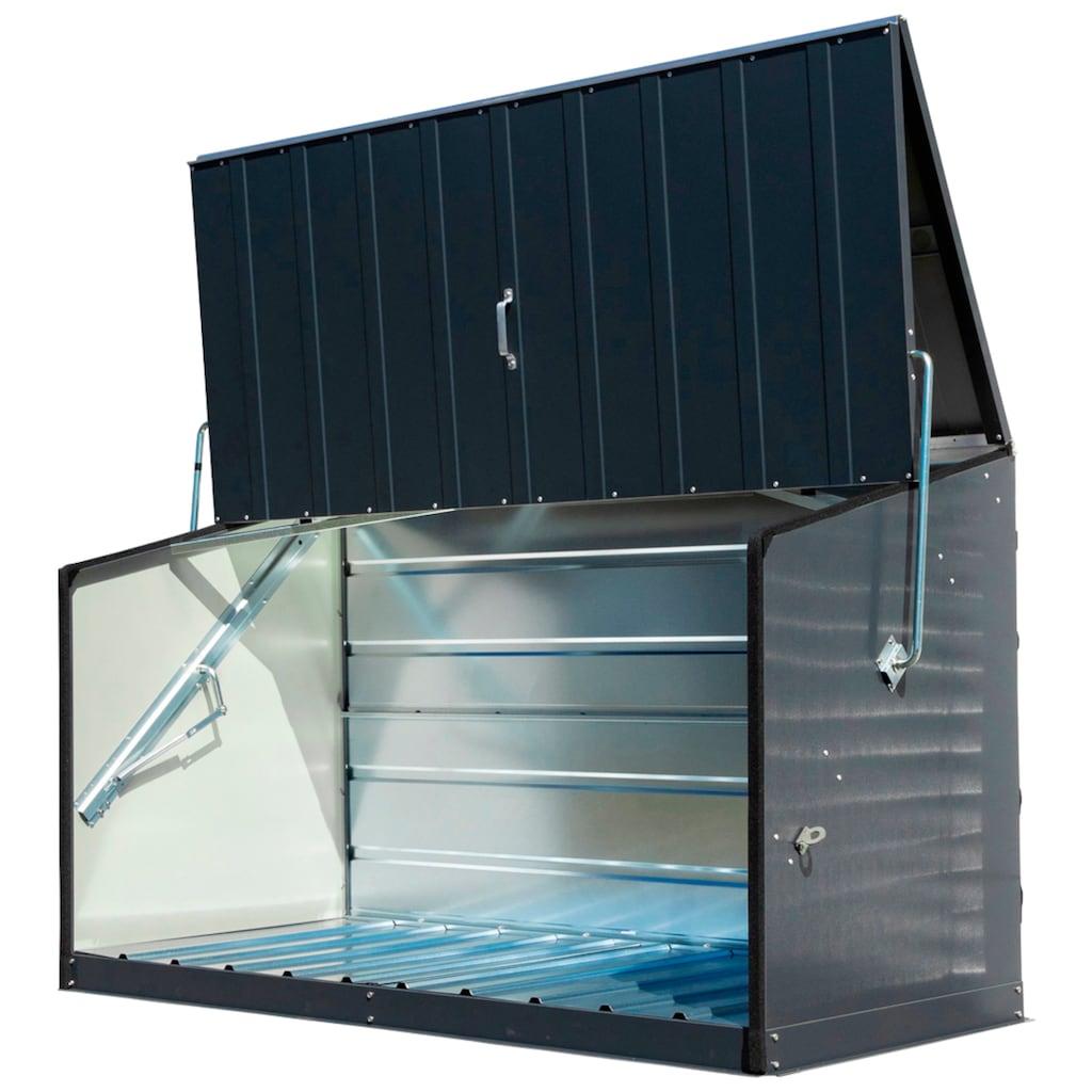 Trimetals Mülltonnenbox »Storeguard«, Fahrradbox, BxTxH: 196x89x113 cm