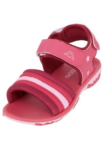 Kappa Sandale »KYA KIDS«, mit zwei weitenregulierbaren Klettverschl&uuml;ssen<br /> kaufen