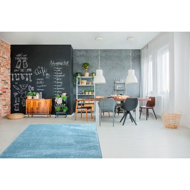 Teppich, »Dream eckig«, Living Line, rechteckig, Höhe 13 mm, maschinell gewebt