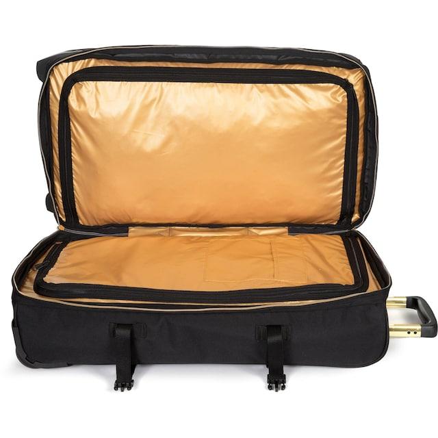 Eastpak Reisetasche »TRANVERZ M goldout black-gold«