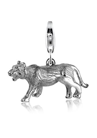 Nenalina Charm-Einhänger »Anhänger Tiger Tier Safari 925 Silber« kaufen