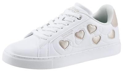 United Colors of Benetton Sneaker »Love Multi«, mit Herzchen-Verzierung kaufen