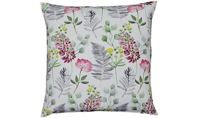 HOSSNER - HOMECOLLECTION Kissenhülle »32487 Flora«, (1) kaufen