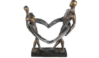 Casablanca by Gilde Dekofigur »Skulptur Connected«, Dekoobjekt, Höhe 31 cm, mit... kaufen