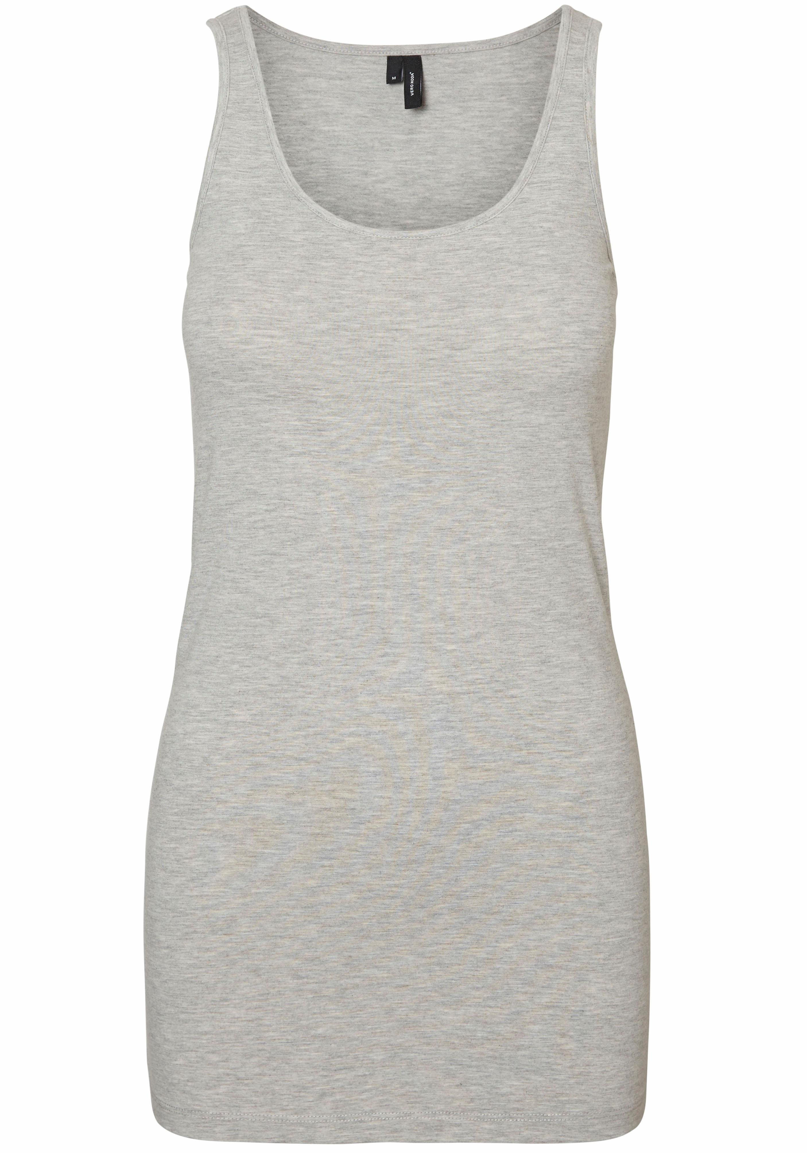 Vero Moda Longtop MAXI | Bekleidung > Tops > Longtops | Grau | Vero Moda