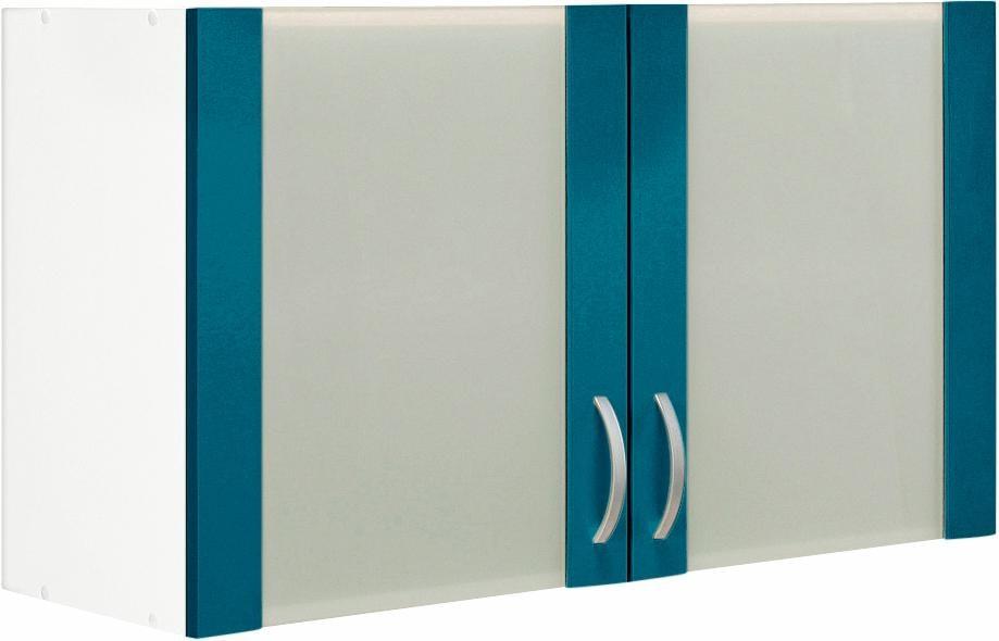 Glashänger Flexi Breite 100 cm   Wohnzimmer > Schränke > Hängeschränke   Blau