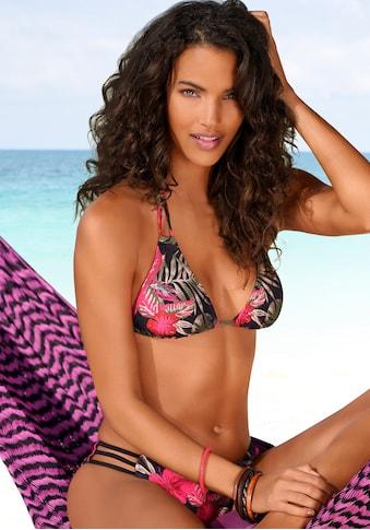 LASCANA Triangel-Bikini-Top »Elsa«, mit floralem Druck kaufen