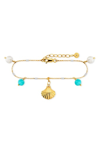 CAÏ Armband »925/ -  Sterling Silber bicolor Amazonit Perle« kaufen