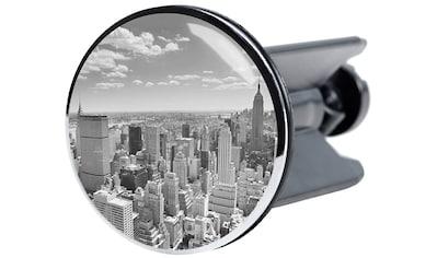 Sanilo Waschbeckenstöpsel »Skyline New York«, Ø 4 cm kaufen