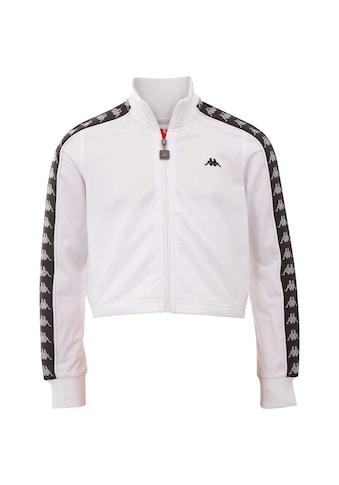 Kappa Trainingsjacke »HASINA«, mit Logo-Webband an den Ärmeln kaufen