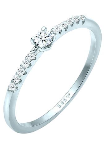 Elli DIAMONDS Verlobungsring »Elli DIAMONDS Ring Diamant Verlobung Hochzeit,... kaufen