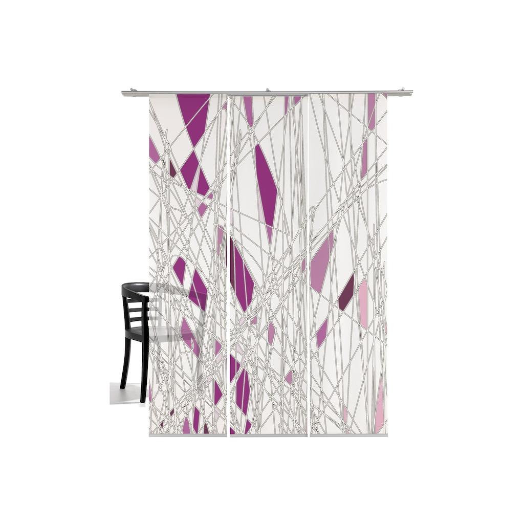 emotion textiles Schiebegardine »Labyrinth«, HxB: 260x60, mit Befestigungszubehör
