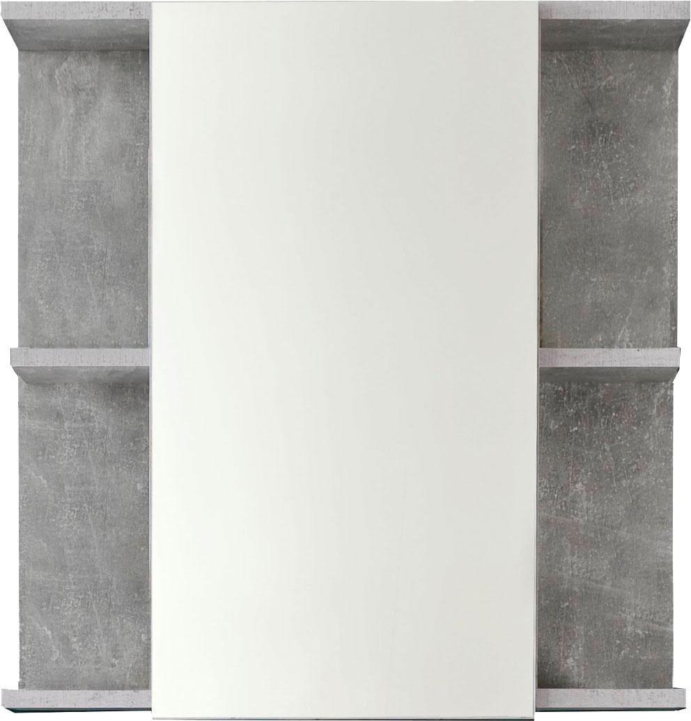 trendteam Spiegelschrank Nano grau Spiegelschränke Badmöbel Bad Sanitär