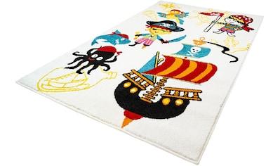 Kinderteppich, »Moda Kids 1518«, Carpet City, rechteckig, Höhe 11 mm, maschinell gewebt kaufen