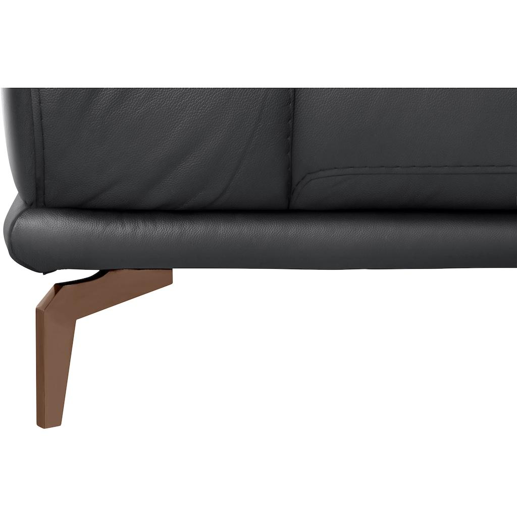 W.SCHILLIG 2-Sitzer »montanaa«, mit Metallfüßen in Bronze pulverbeschichtet, Breite 192 cm