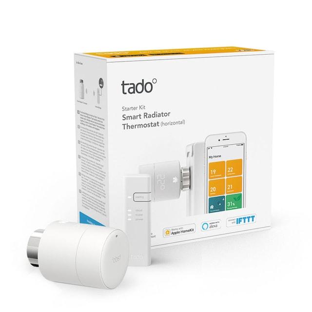 Tado Heizungsthermostat »Starter Kit V3+ inkl Bridge«