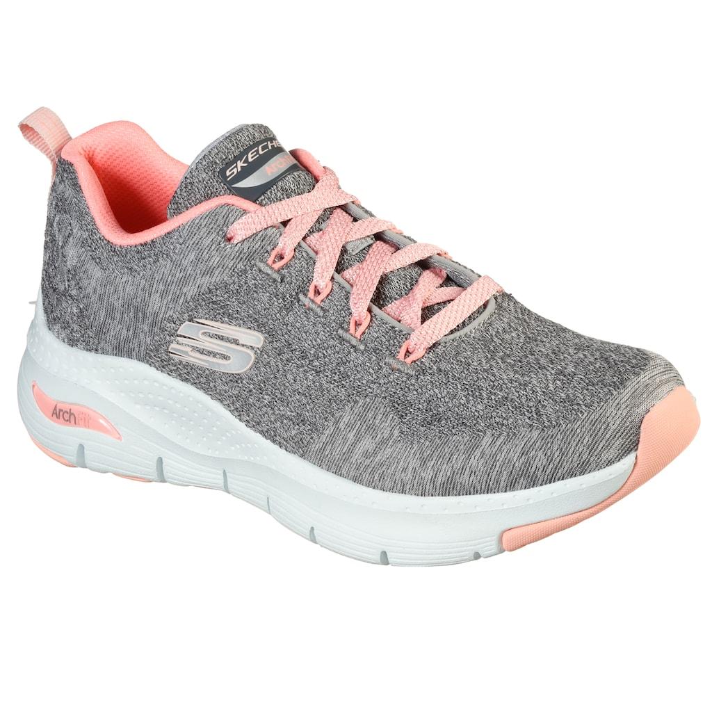 Skechers Sneaker »ARCH FIT - COMFY WAVE«, mit gepolsterter Innensohle