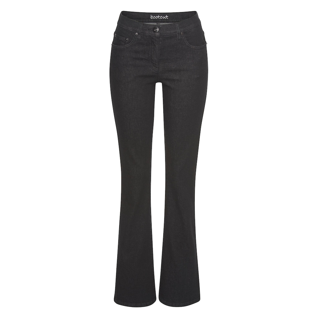 Aniston CASUAL Bootcut-Jeans »Simone«