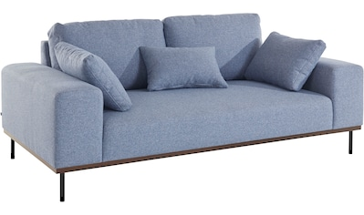 elbgestoeber 2-Sitzer »Elbpier«, mit hochwertigem, gebeiztem Holzrahmen; incl. 3... kaufen