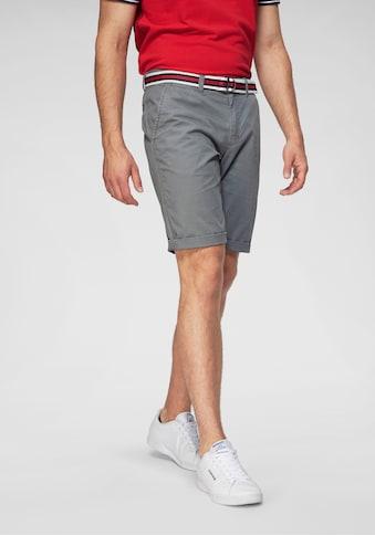 TOM TAILOR Polo Team Shorts (Set, mit Gürtel) kaufen