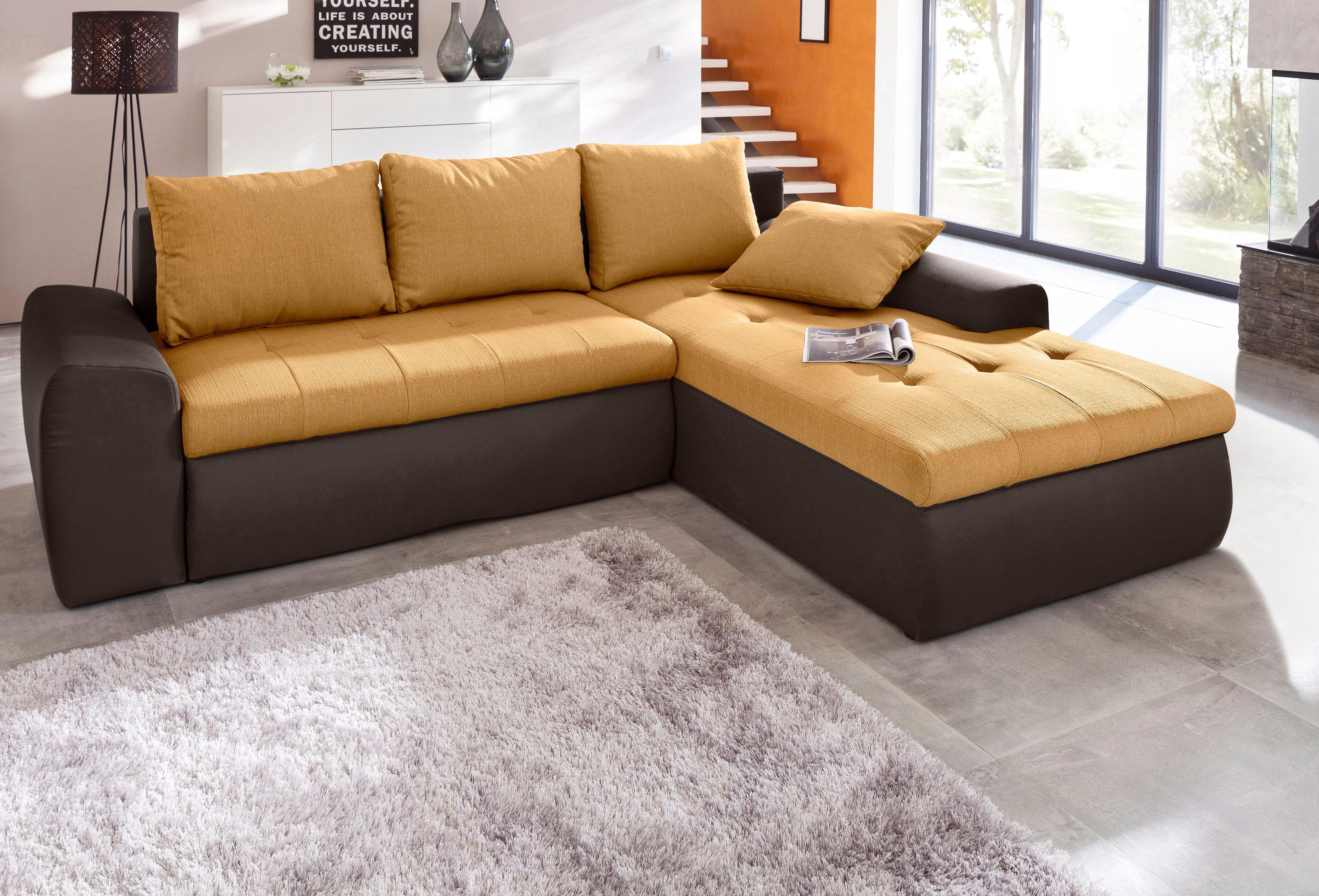 sit more polsterecke inklusive bettfunktion moebel suchmaschine. Black Bedroom Furniture Sets. Home Design Ideas