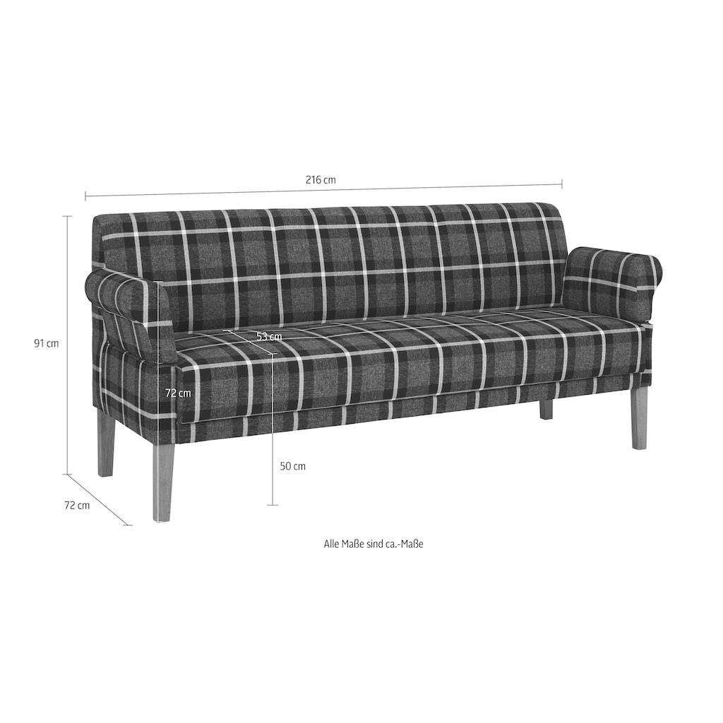 reposa Sofa »Cottage«, in 4 Breiten von 160 cm bis 240 cm