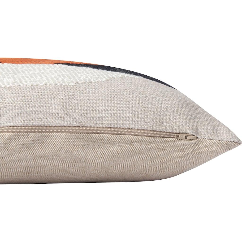 TOM TAILOR Kissenhülle »Ethno Stripe«, (1 St.), mit modernem Ethno-Muster