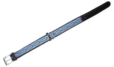HEIM Hundehalsband »Indigo«, blau/schwarz, Länge: 50 - 60 cm kaufen