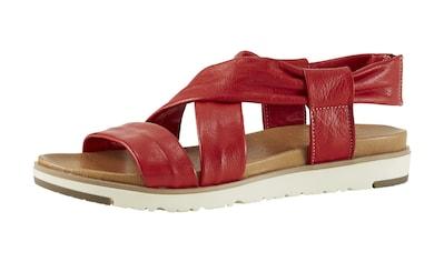 Sandalette mit gekreuzten Bändern kaufen