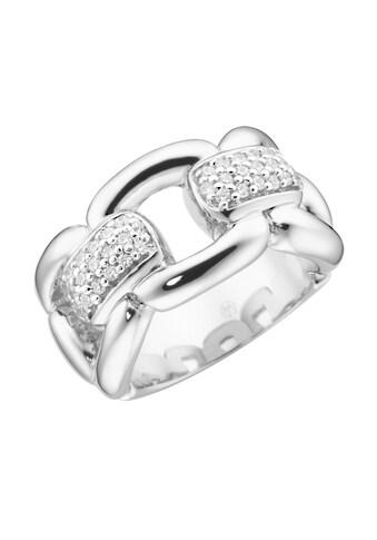 GIORGIO MARTELLO MILANO Silberring »in Ketten-Optik mit weißen Zirkonia« kaufen
