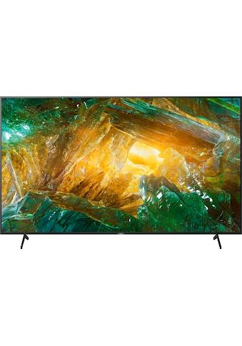 "Sony LED-Fernseher »KD-85XH8096«, 215 cm/85 "", 4K Ultra HD, Smart-TV kaufen"