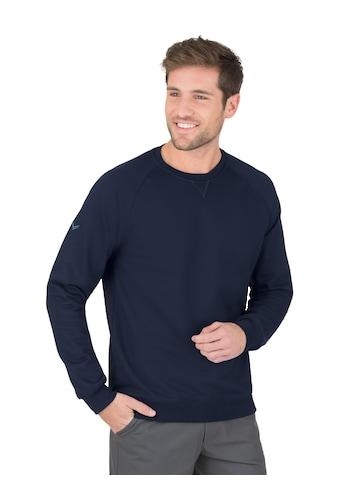Trigema Sweatshirt mit angerauter Innenseite kaufen