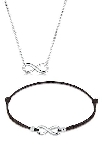Elli Schmuckset »Infinity Unendlich Verbundenheit 925 Silber« kaufen