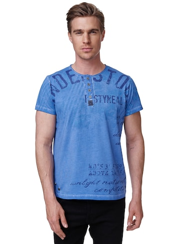 Rusty Neal T-Shirt, mit kurzer Knopfleiste kaufen