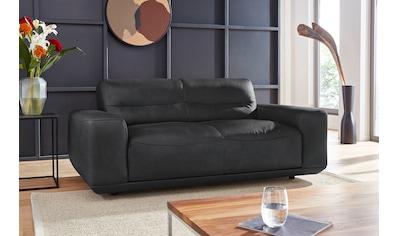 W.SCHILLIG 2-Sitzer »william«, Ledersofa, wahlweise mit Sitztiefenverstellung, Breite 186 cm kaufen