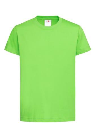Stedman Rundhalsshirt »Essential Kids Organic«, in klassischem Design aus Bio-Baumwolle kaufen