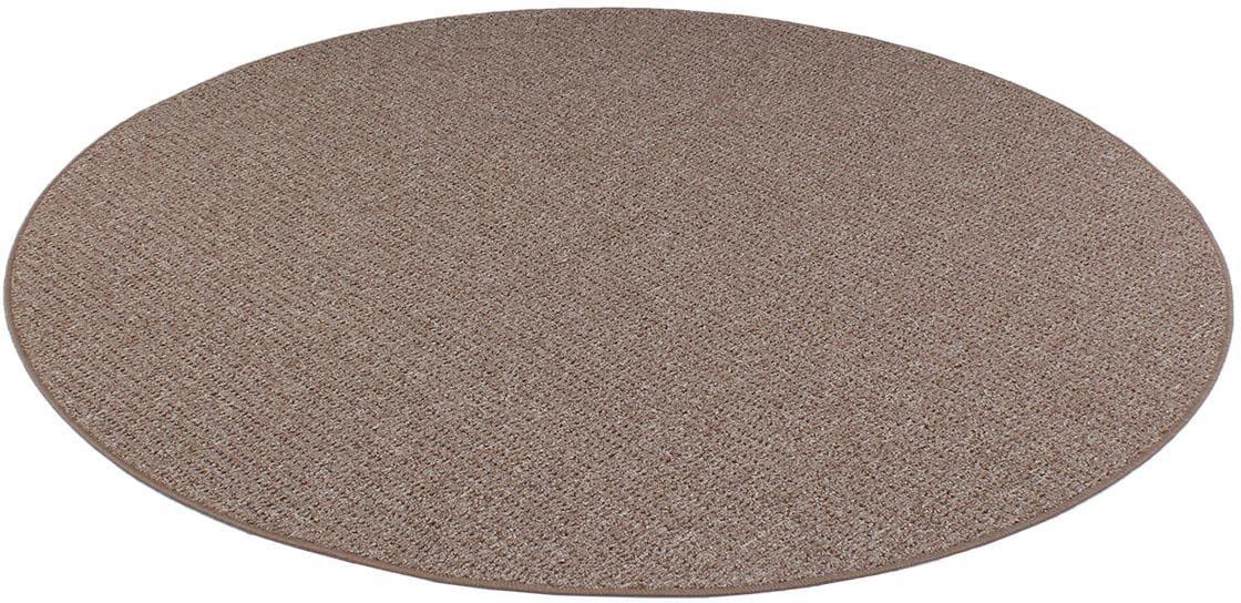 Teppich Snake Living Line rund Höhe 9 mm maschinell gewebt