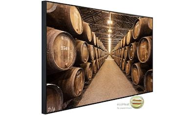 Papermoon Infrarotheizung »Keller mit Fässern«, sehr angenehme Strahlungswärme kaufen