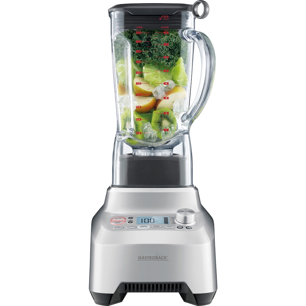 Gastroback Smoothie-Maker »»Design Advanced Professional 41007««, 2200 W, für grüne Smoothies