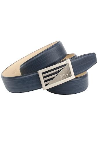 Anthoni Crown Ledergürtel, im trendigen Blauton kaufen
