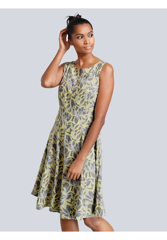 Alba Moda Kleid in verfremdeten Blumendessin kaufen