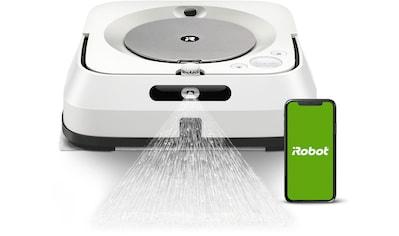 iRobot Wischroboter »Braava jet m6 (m6138), Nasswischen und Trockenfegen,«, Mit... kaufen