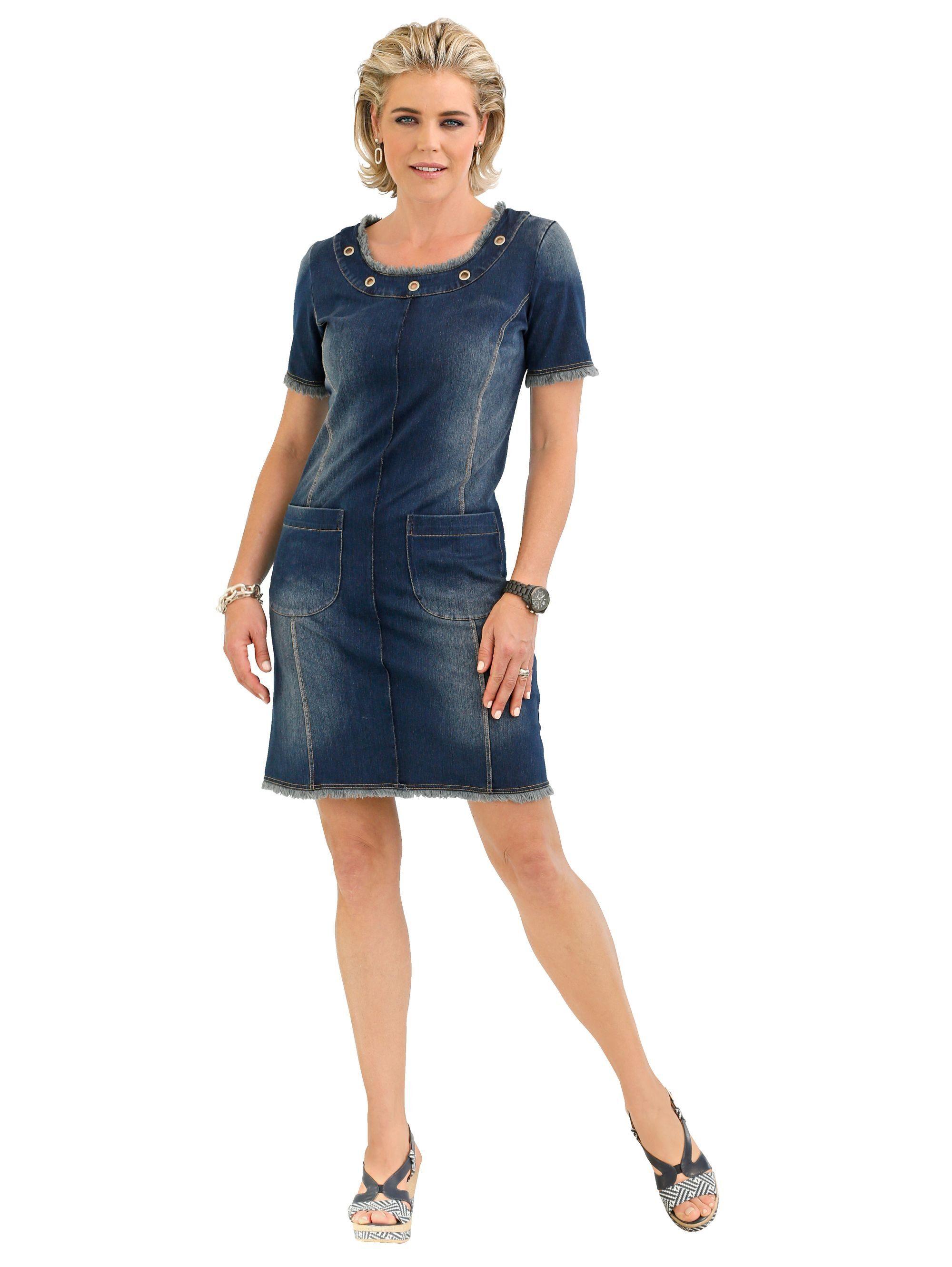 Mona Kleid in Jeansoptik