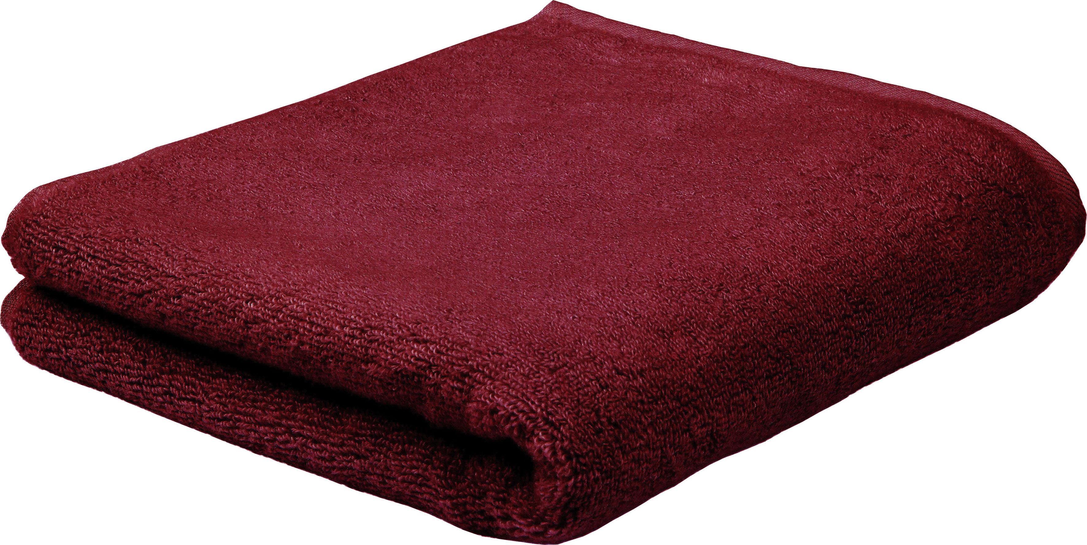 ROSS Duschtuch Sensual Skin, (1 St.), mit Aloe Vera veredelt rot Badetücher Handtücher