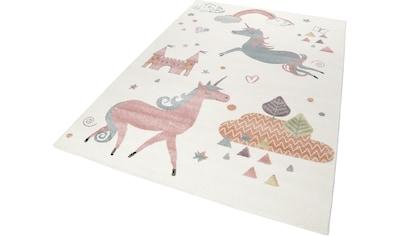 Esprit Kinderteppich »Sunny Unicorn«, rechteckig, 13 mm Höhe kaufen
