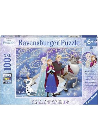 """Ravensburger Puzzle """"Disney Frozen glitzernder Schnee"""" kaufen"""